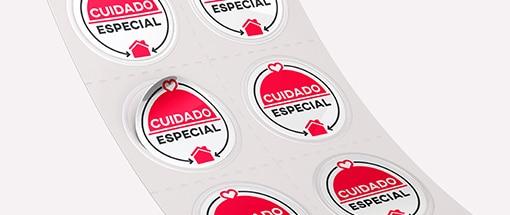 Selos Cuidado Especial
